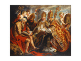 The Four Doctors of the Church Print by Jacob		 Jordaens