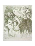 Hat Pin, First Board Prints by Pierre-Auguste Renoir