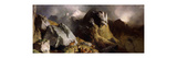 The Deer Pass Premium Giclee Print by Edwin Henry Landseer