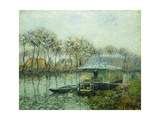 The Seine at Port Marley Prints by Gustave		 Loiseau