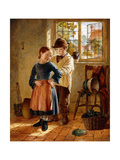 Hook my Frock Giclee Print by William		 Hemsley