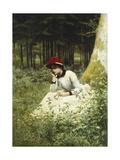 A Pensive Moment Prints by Niels Frederik Schiottz-Jensen