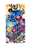 Lacy Ladder Giclee Print by Natasha Wescoat