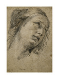 Head of a Woman Looking up to the Right Giclee Print by Guido		 Reni