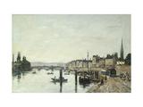 Rouen, La Seine et le Pont Corneill Posters by Eugène Boudin