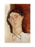 Head of a Young Man Giclee Print by Amedeo Modigliani