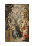 The Annunciation Giclee Print by Jacob Wit
