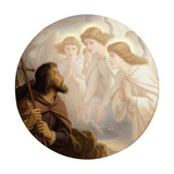 Lead, Kindly Light, amid the Encircling Gloom, lead thou me on! Giclee Print by Sir Joseph Noel		 Paton