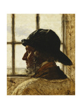 The Old Fisherman Giclee Print by Peder Severin Kröyer