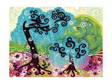 Coastal Glimmer Giclee Print by Natasha Wescoat