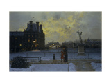 The Evening Promenade Prints by Marcel		 Lebrun