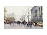 La Madeleine, Paris Prints by Eugene		 Galien-Laloue