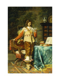 The Cavalier Giclee Print by Jean Louis Ernest		 Meissonier