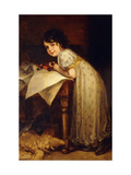 Hedda Giclee Print by Friedrich August Kaulbach