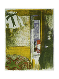 Interior with Hanging Lamp, from Landscapes and Interiors Giclee Print by Edouard		 Vuillard