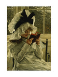 Reading a Book Giclee Print by James Tissot