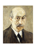 Self-portrait Giclee Print by Max		 Liebermann