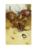 A Fall's a Hawful Thing' Prints by Cecil		 Aldin