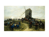 Souvenirs des Grandes Manoeuvres Giclee Print by Jean Baptiste Edouard		 Detaille