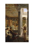 The Juggler Print by Sir Lawrence Alma-Tadema