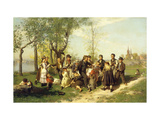 Children at Play Posters by August		 Malmstrom