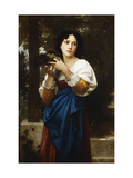 La Treille Prints by William Adolphe Bouguereau