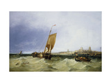 Breeky Day, Portsmouth Giclee Print by James		 Webb