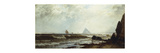 St. Michael's Mount Premium Giclee Print by Alfred Thompson		 Bricher