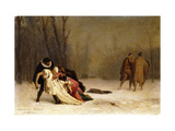 The Duel after the Ball Giclee Print by Jean Leon		 Gerome
