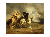 The Simoom Giclee Print by Eugene		 Fromentin