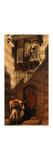 A Serenade in Cairo Premium Giclee Print by Carl Haag