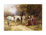 The Fortune Teller Premium Giclee Print by Heywood		 Hardy