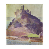 St. Michael's Mount Giclee Print by Harold		 Harvey