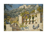 La Balustrade Prints by Theo Rysselberghe