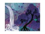 Violet Falls Art par Natasha Wescoat