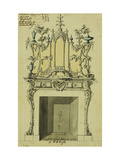 Design for a Chimneypiece Posters by John		 Linnell
