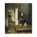 An Interior, Strandgade 25 Posters by Vilhelm		 Hammershoi
