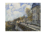 Factory at Sevres Giclee Print by Alfred		 Sisley