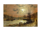 Whitby Prints by John Atkinson Grimshaw