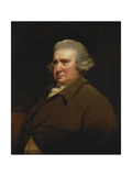 Portrait of Erasmus Darwin, Half Length, in a Buff Coat and White Shirt Giclee Print by Joseph		 Wright of Derby