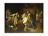 The denouncement of two noblemen belonging to the Confederation of Bar Impression giclée