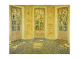 Windows on the Parc Premium Giclee Print by Henri		 Le Sidaner