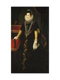 Portrait of the Infanta Isabel Clara Eugenia of Bourbon Posters by Juan Pantoja Cruz