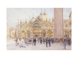 St Marks Square, Venice Affiches par Walter Frederick Roofe Tyndale