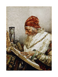 The Scholar Giclee Print by Francisco Pradilla		 Ortiz