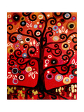 Fiery Blossom Tree Affiches par Natasha Wescoat