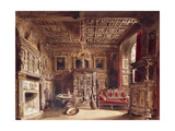 A Room in an Ancient Mansion Posters by William Henry Lake		 Price