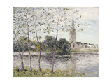 By the Pond at Rosporden, Finistere Prints by Maxime		 Maufra