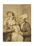 A New Form of Prayer Giclee Print by Thomas		 Rowlandson
