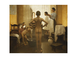 Bath Time Giclee Print by Carl Vilhelm		 Meyer